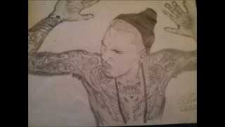 My Chris Brown Drawing