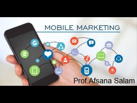 Types of Mobile Marketing