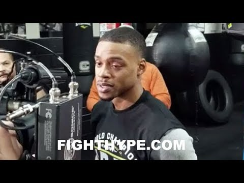 ERROL SPENCE REACTS TO MAYWEATHER SAYING FIGHTERS NEED A VOICE: