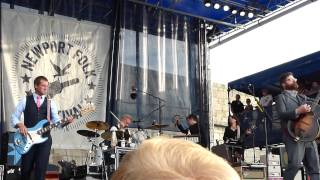 A beginning Song / Cavalry Captain - The Decemberists. Newport Folk Festival. July 25, 2015.