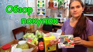 Обзор покупок Слата, NL и соседнее село. (10.18г.) Семья Бровченко.