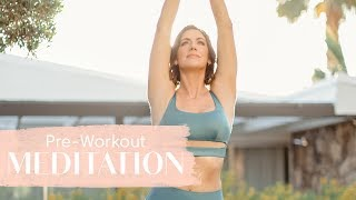 5-Minute Guided Meditation For Pre-Workout Motivation | Tone It Up
