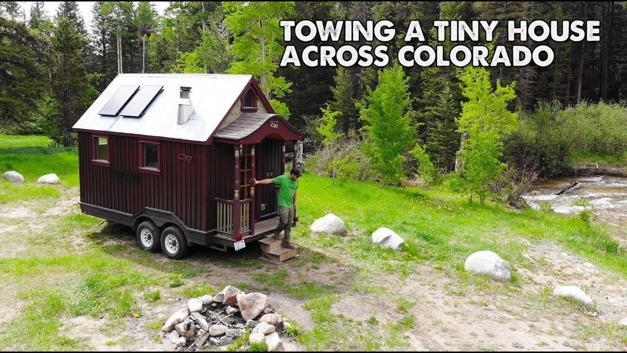 Touring Zack Giffin S Tiny House Tiny House Road Trip Ep 1