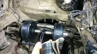 видео Переделка жигулей в электромобиль. Как сделать электромобиль