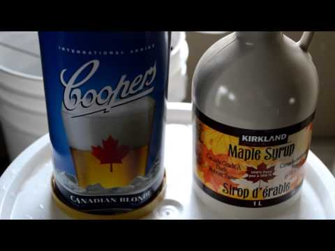 Beginners Guide to Brewing | Coopers Canadian Blonde and the great maple syrup fail
