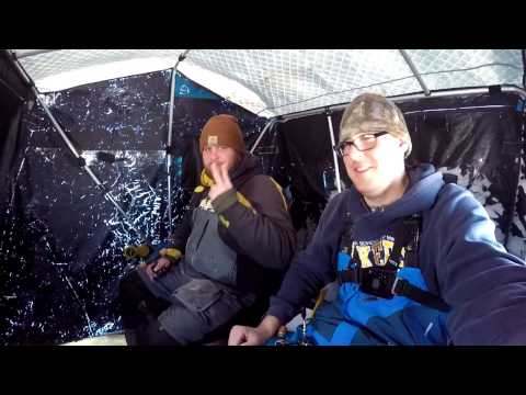 Walleye Fishing in Extreme Cold
