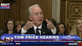 PART 2: Tom Price Confirmation Hearing, CONTROVERSIAL Secretary of Health & Human Services Nom (FNN)