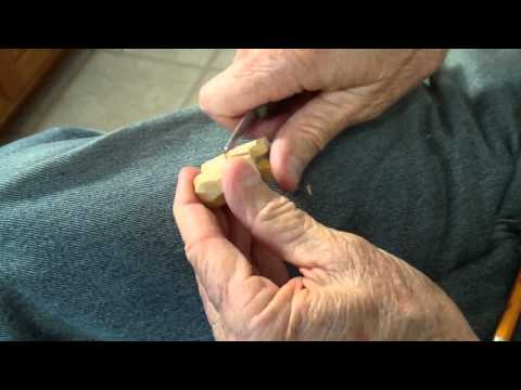 Carving The Jack Price 35 MM Canister Figure Part 1