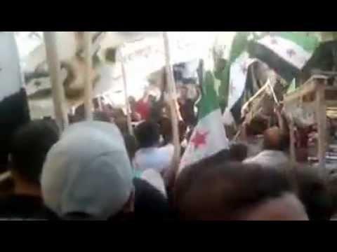 مشاركة تنسيقية مساكن برزة في مظاهرة جوبر.mp4