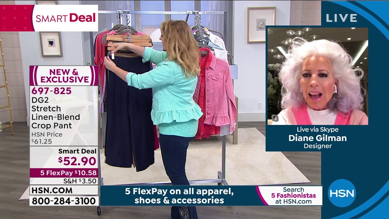 Hsn Diane Gilman Fashions Anniversary 05 09 2020 10 Pm Youtube