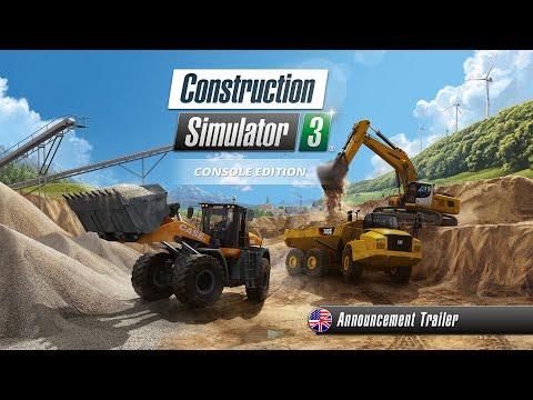 Construction Simulator 3 – Console Edition – Announcement Trailer (US)