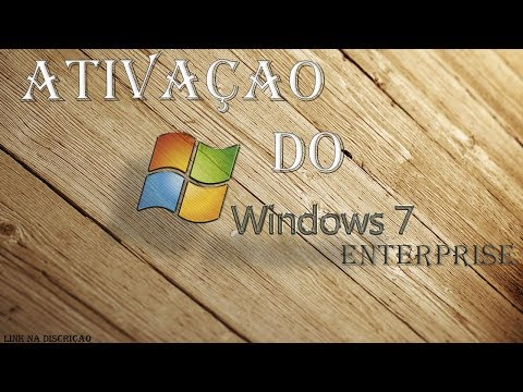 COMO ATIVAR O WINDOWS 7 ENTERPRISE Método Atualizado