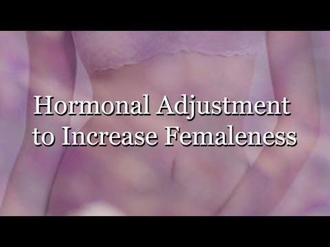 Hormonal Adjustment to Increase Femaleness (Subliminal)