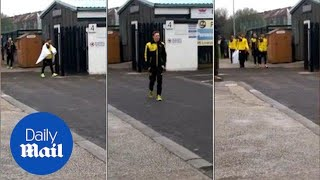 Dortmund train ahead of Europa League clash with Liverpool - Daily Mail