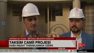 Beyoğlu Belediyesi Taksim Camii Projesi Cnn Türk