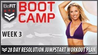 28 Day Resolution Jumpstart Workout Plan: Week 3- BeFiT Bootcamp