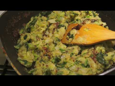 Bubble N Squeak Recipe - How To Make Bubble & Squeak - British Food - Fried Potato & Cabbage