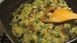 Bubble N Squeak Recipe   How To Make Bubble & Squeak   British Food   Fried Potato & Cabbage
