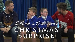 Lallana and Henderson surprise school pupils for Christmas | KOP KIDS