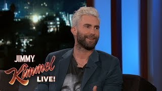 Adam Levine Reveals Prank on Blake Shelton