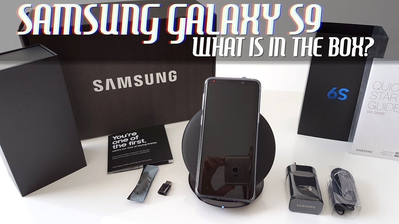 samsung galaxy s9 preorder unboxing free case wireless charger more youtube. Black Bedroom Furniture Sets. Home Design Ideas