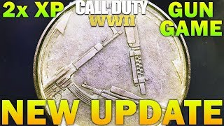 New Update - Gun Game, Double XP, & FREE DLC WEAPONS COD WW2