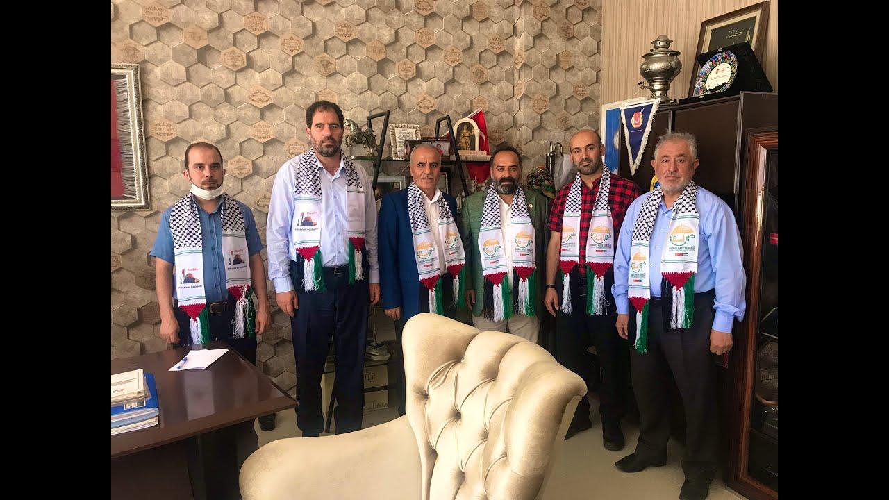 زيارة جمعية خير أمة للسيد Arif KURT رئيس رابطة الصحفيين الأتراك في غازي عنتاب