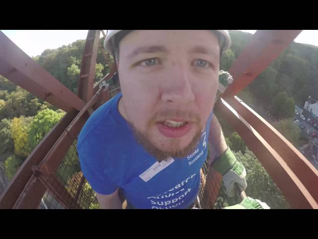 The Forth Rail Bridge Abseil 9th October 2016