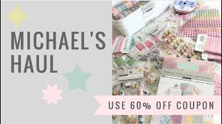 Michael's Haul, lowest prices of the season!(march 2018)