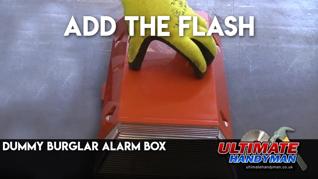 Dummy Burglar Alarm Box Youtube Ring Around Led Flasher