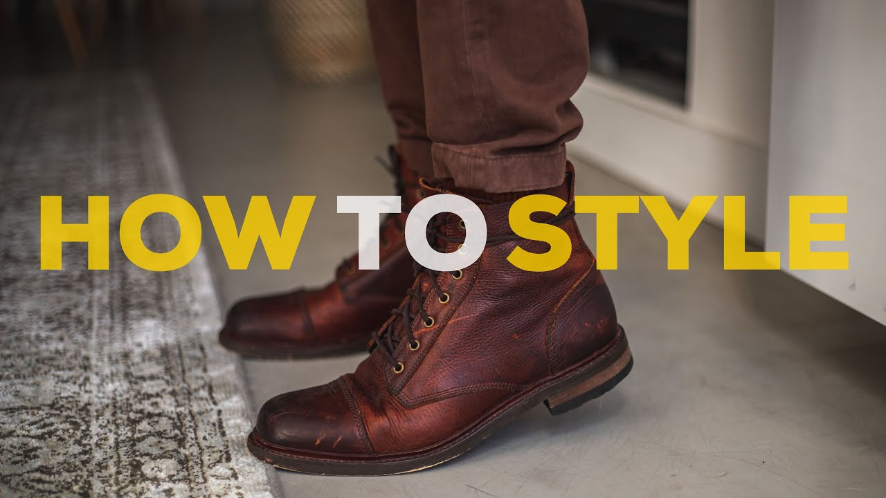 [VIDEO] - How to Style BROWN BOOTS | Men's Outfit Ideas | Parker York Smith 1
