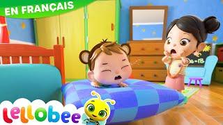 5 Petits Singes Sautent Sur le Lit | Comptines et Chansons Pour Bébés | Little Baby Bum en Français