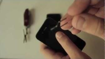 iPhone 5 Einrichten und SIM Karte installieren - felixba94
