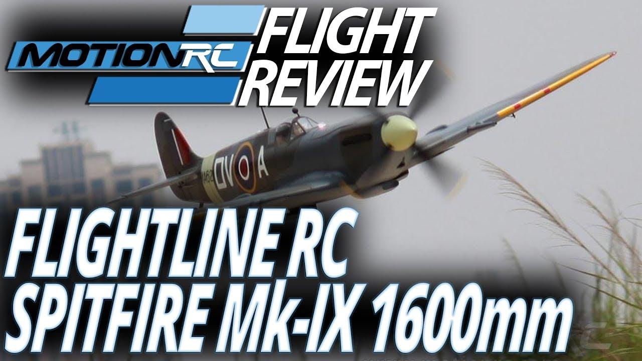 Flightlinerc 1600mm Spitfire Mk Ix Flight Review Motion Rc Basic Experimental Aircraft Wiring Diagram
