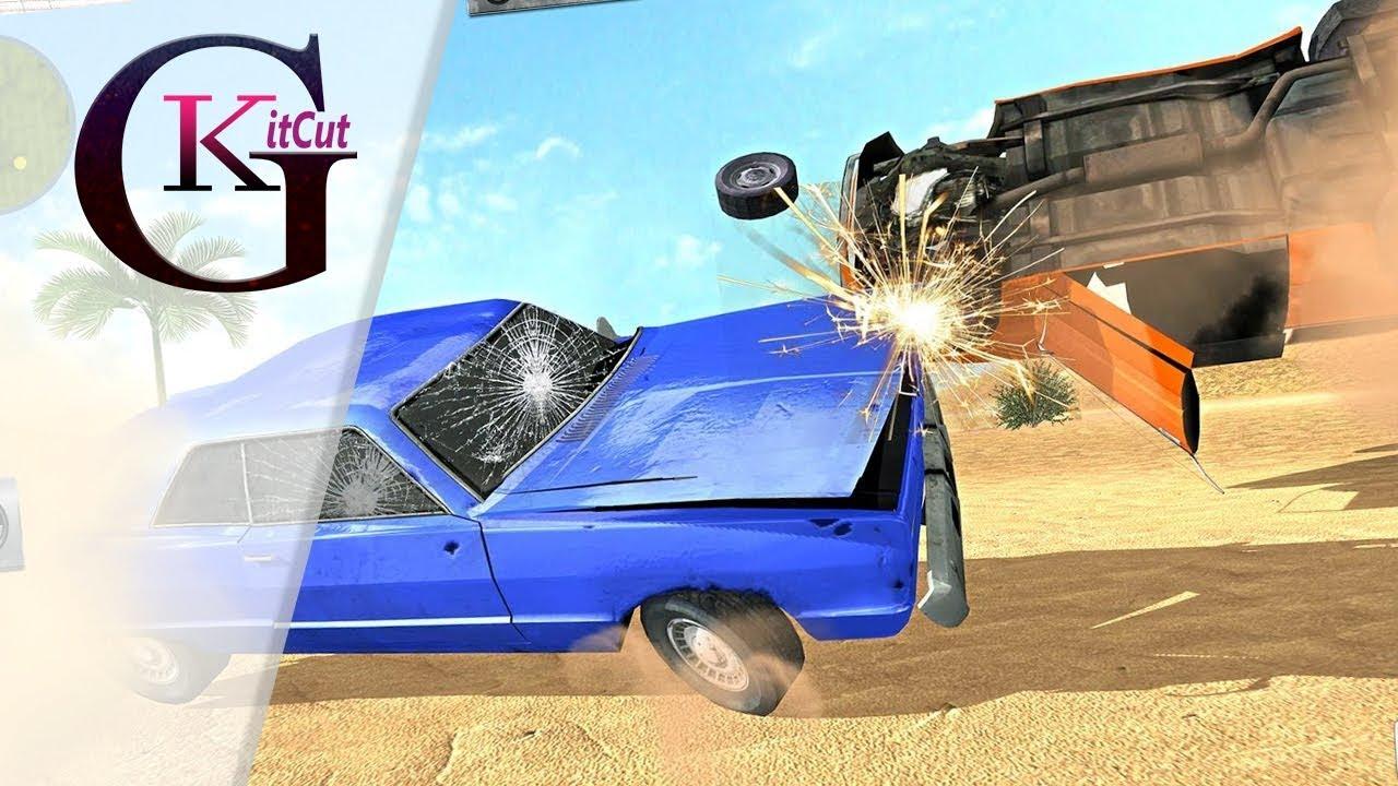 Car Crash Simulator & Beam Crash Stunt Racing SG Gameplay