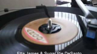 "Vital vinyl - Etta James & Sugar Pie DeSanto ""Do I make myself clear""?"
