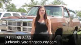 Sell My Car Orange County