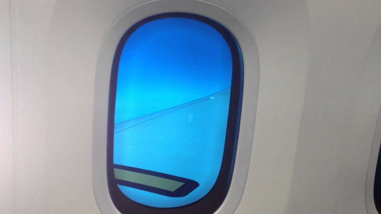 Man Punches And Cracks A Magical 787 Dreamliner Window