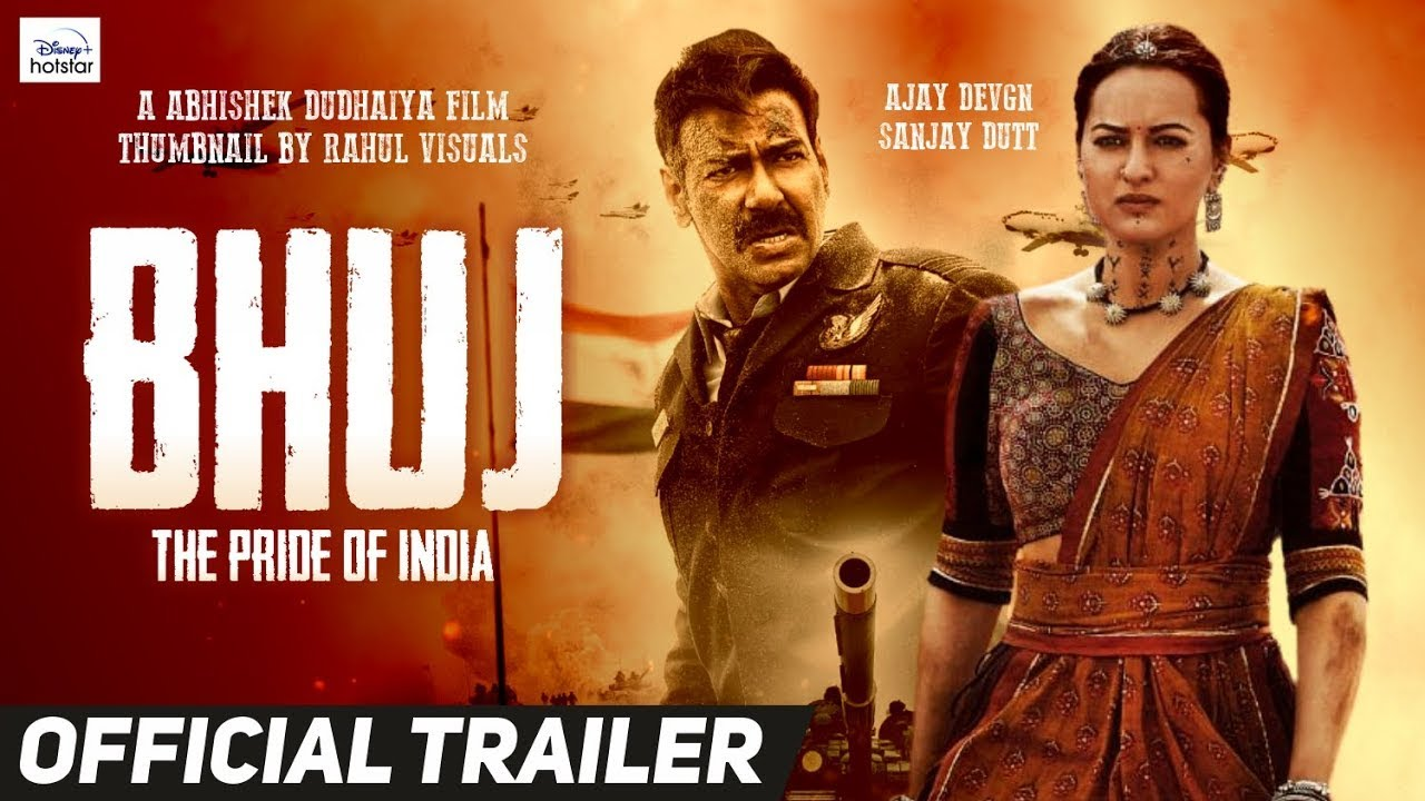 Bhuj The Pride of India Official Trailer   Ajay Devgn,Sanjay Dutt,Sonakshi  Sinha  Concept Trailer - YouTube