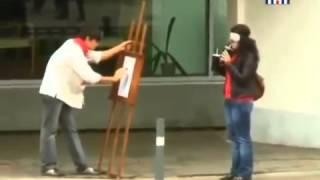 Приколы над людьми на улицах Атака клоунов Выпуск 3 1