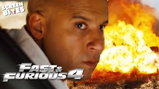 Gas Tanker ATTACK! | Opening Scene | Fast & Furious 4 | SceneScreen
