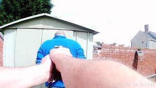 Politimannen hylles etter dramatisk pågripelse