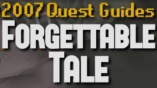 Runescape 2007 Quest Guides: Forgettable Tale of a Drunken Dwarf