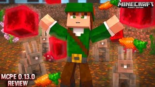 MINECRAFT PE 0.13.0 - O QUE FOI ADICIONADO ? (POCKET EDITION)