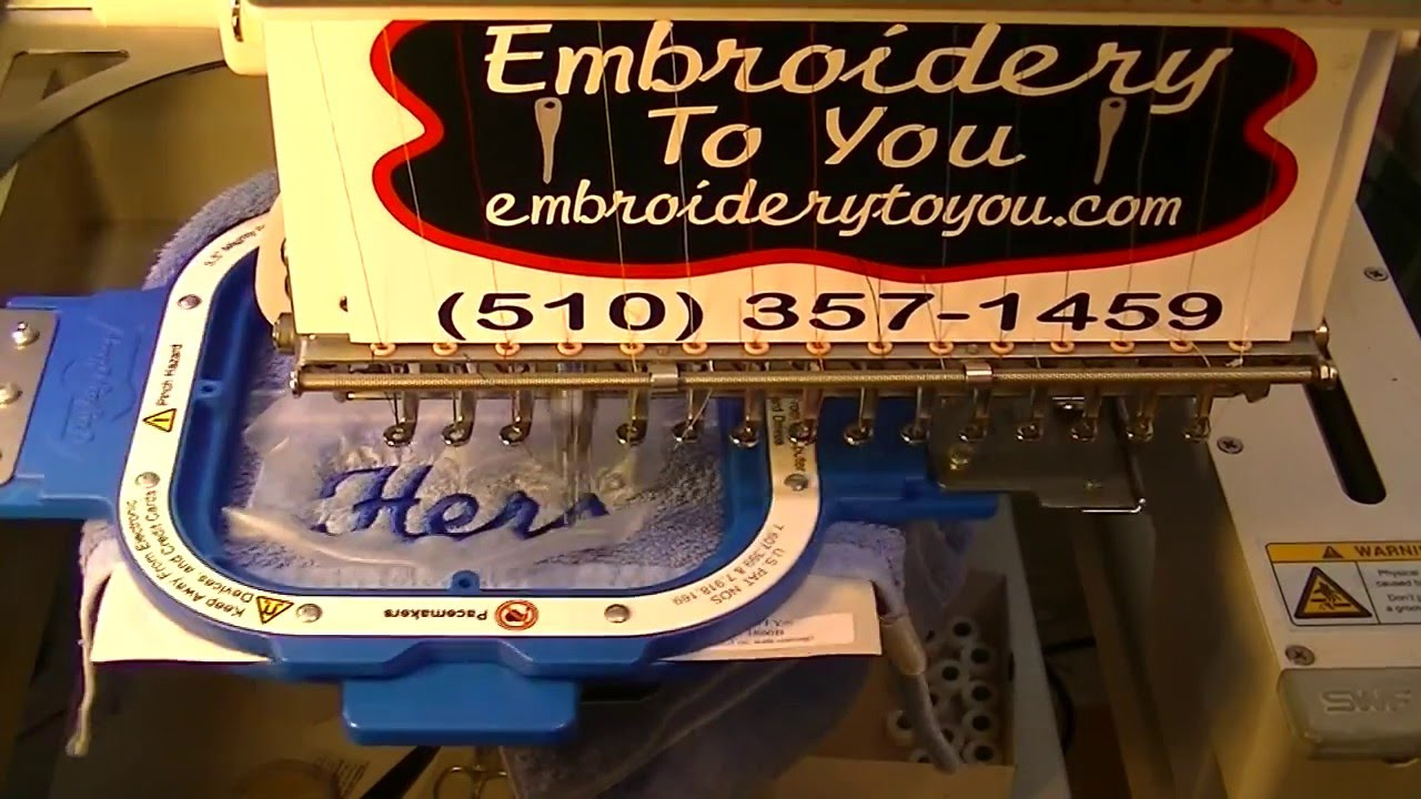 How To Embroider Bath Towels  Youtube (510) 3571459