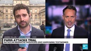 Paris attack trial: Bataclan massacre survivors give harrowing testimonies • FRANCE 24 English