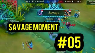 Baixar MOBILE LEGENDS SAVAGE MOMENT #05