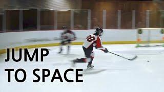 아이스하키 트레이닝 'Jump to Space&…