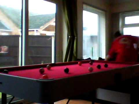 Playing On A Foot Pool Table YouTube - Six foot pool table