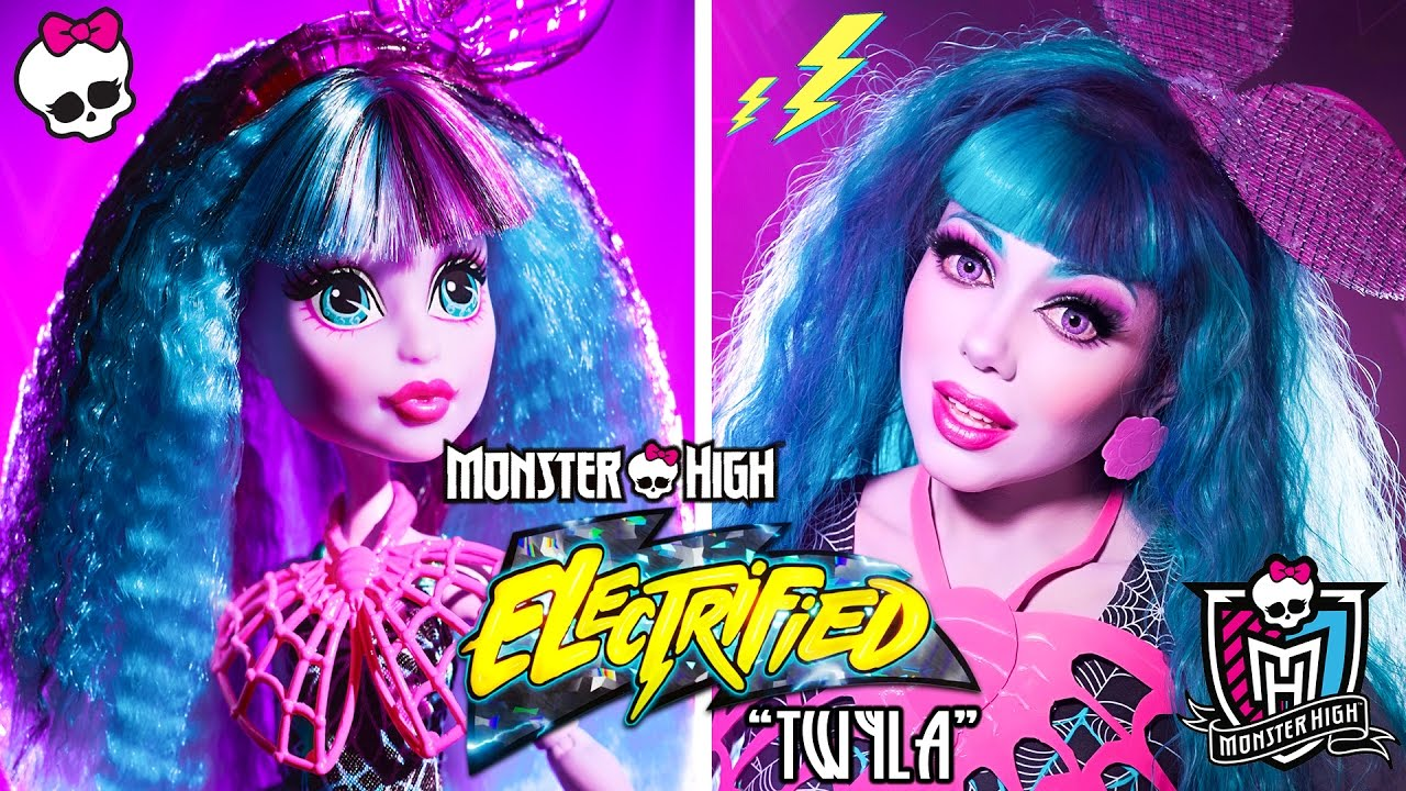 monster-high-twyla-doll-electrified-makeup-tutorial